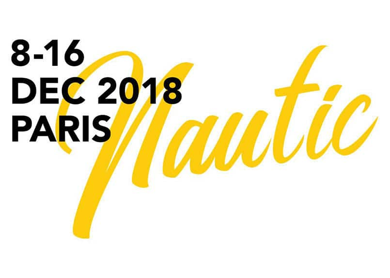 logo salon nautique paris 2018