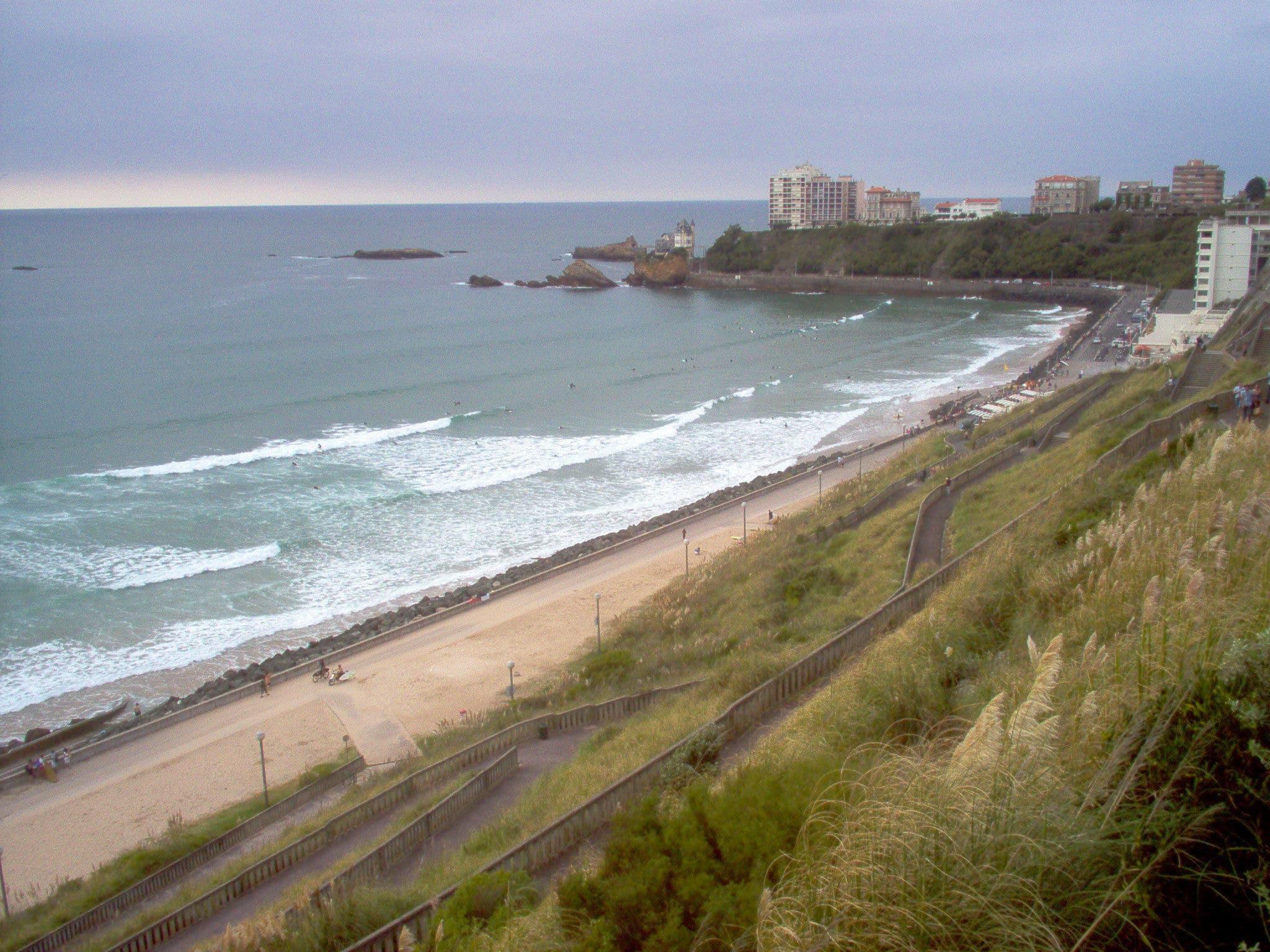 Côte_des_Basques_Biarritz-CHAMPIONNATS-DU-MONDE-DE-LONGBOARD