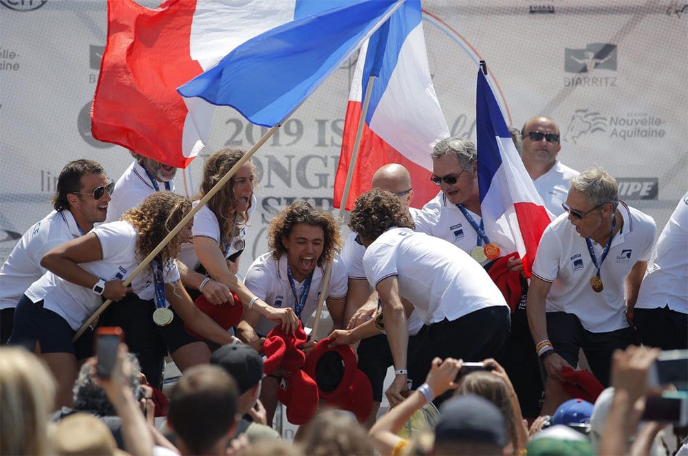 french-team-ISA-World-Longboard-Surfing-Championship