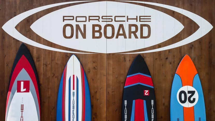 Porsche on board_watersports
