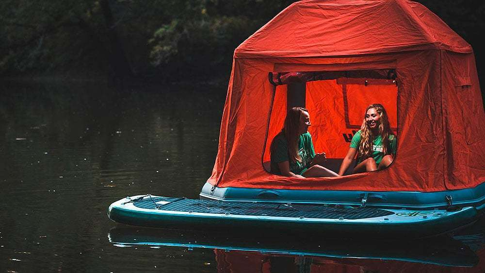Innovation: Shoal floating tents